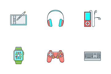 Hardware And Devices Icon Pack