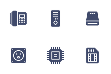 Hardware & Device Icon Pack