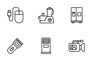 Hardware Devices Icon Pack
