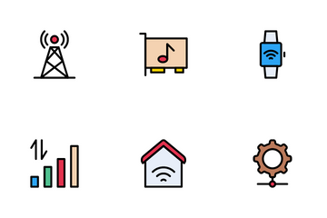 Hardware Network Icon Pack