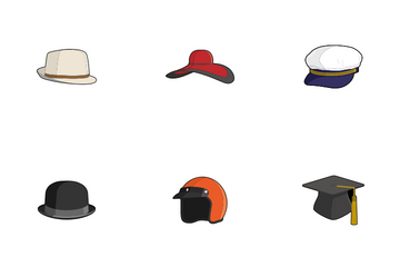 Hats And Caps Icon Pack