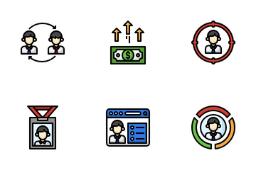 Head Hunting Icon Pack