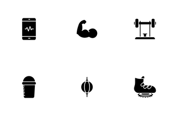 Health And Fitness Icon Pack
