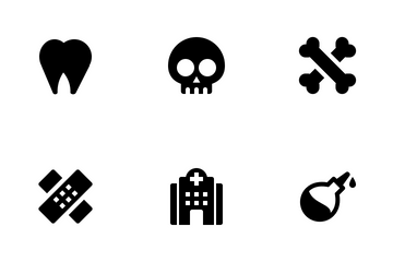 Health And Medical Solid Icon Pack