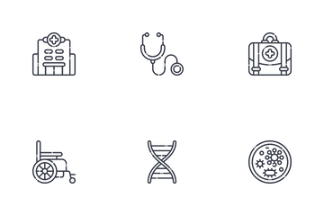 Health And Medical Vol. 1 Icon Pack