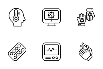 Health Care And Medical Icon Pack