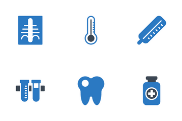 Health Conditions And Diseases Icon Pack