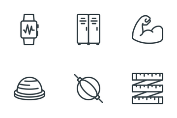Health & Fitness Icon Pack