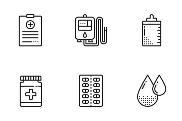 Health & Medicine Icon Pack