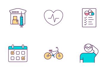 Health Program Icon Pack