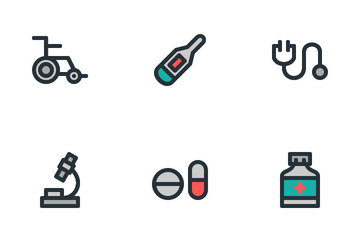 Healthcare And Medical (Filled Outline) Icon Pack