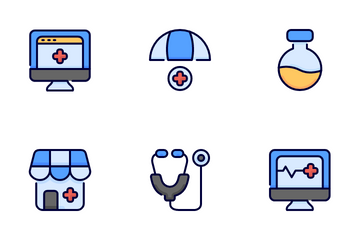 Healthcare And Medical Vol 1 Icon Pack