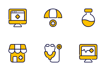 Healthcare And Medical Vol1 Icon Pack