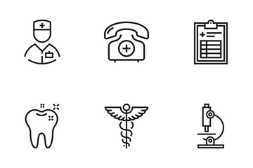 Healthcare And Medicine Icon Pack
