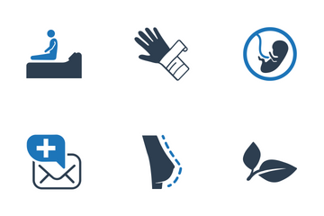 Healthcare - Blue Series (Set 1) Icon Pack
