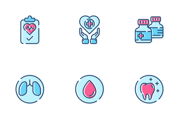 Healthcare Color Icon Pack