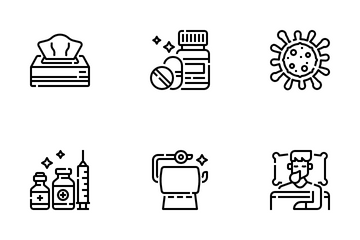 Healthcare & Hygiene Icon Pack