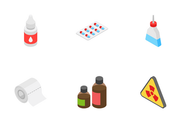 Healthcare - Isometric Icon Pack