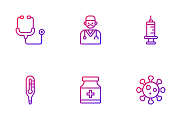 Healthcare & Medical Icon Pack