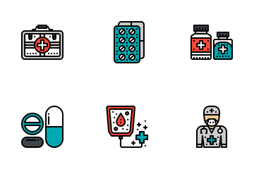 Healthcare & Medical Outline Icon Pack