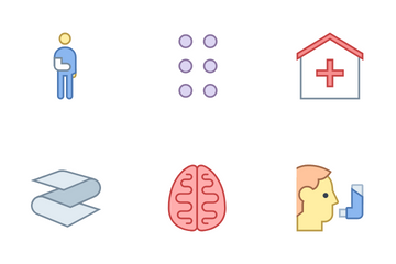 Healthcare Office Icon Pack