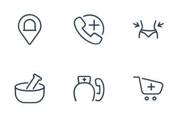 Healthcare - Outline 2 Icon Pack