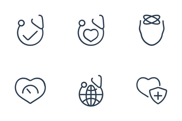 Healthcare - Outline 3 Icon Pack
