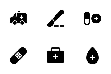 Healthcare - Solid Icon Pack