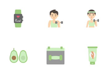 Healthy And Beauty Icon Pack
