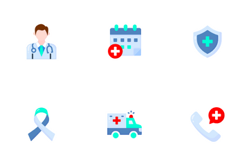 Healthy And Medical Icon Pack