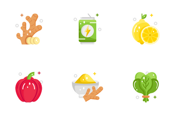 Healthy Food Icon Pack