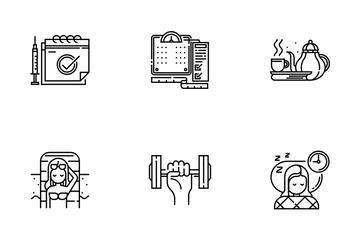 Healthy Life Line - Live Long And Prosper Icon Pack