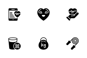 Healthy Life Style Icon Pack
