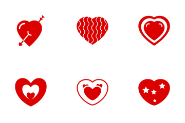 Hearts Icon Pack