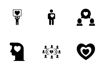 Hearts And Love Related Icon Pack
