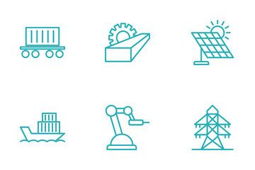 Heavy Industry Icon Pack