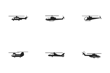 Helicopter Icon Pack
