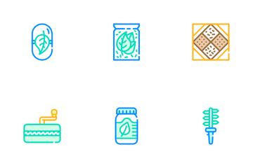 Herbalist Medical Icon Pack