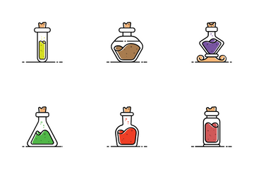 Herbs And Medicine Icon Pack