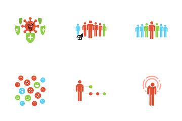 Herd Immunity Icon Pack