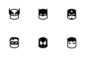 Heroes Avatar Icon Pack