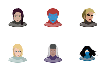 Heroes & Villains Icon Pack