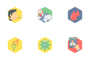 Hexagon Medical Part 3 Icon Pack