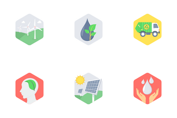 Hexagona Version Part 2 Icon Pack