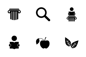 High Education Icon Pack