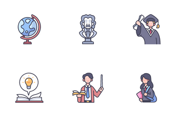 High School Icon Pack