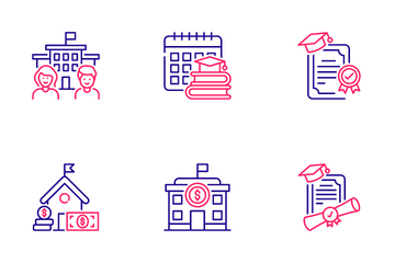 Higher Education Icon Pack