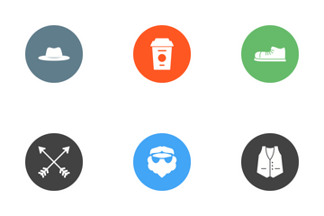Hipster Icon Pack