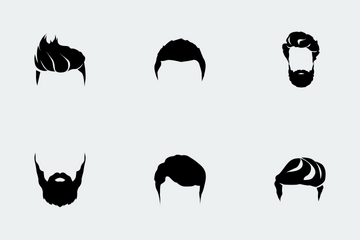 Hipster Men Style Icon Pack