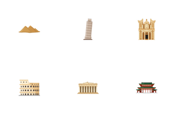 Historical Building Icon Pack